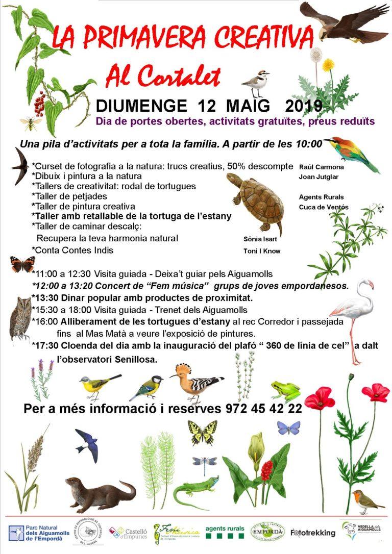 Primavera creativa al Parc Natural dels Aiguamolls
