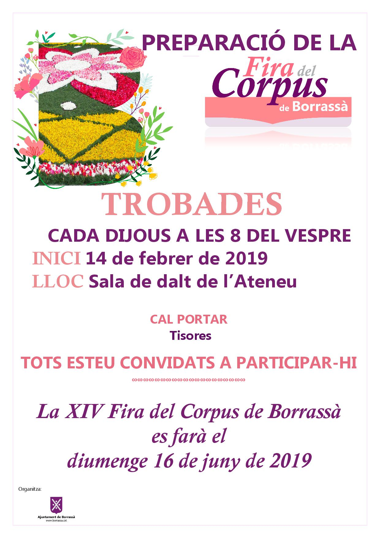 XIV Fira del Corpus cartell