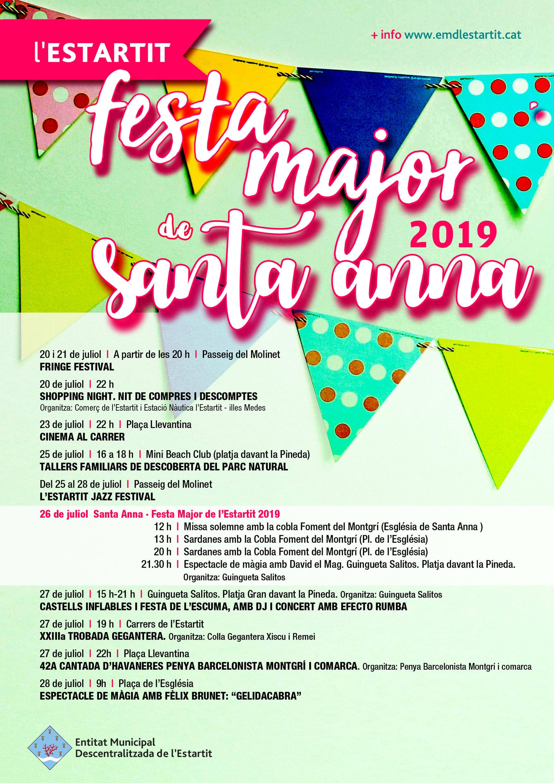 Festa Major de Santa Anna Festa Major Estartit