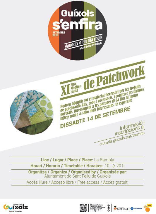 XI Fira Mediterrània de Patchwork a Sant Feliu de Guíxols