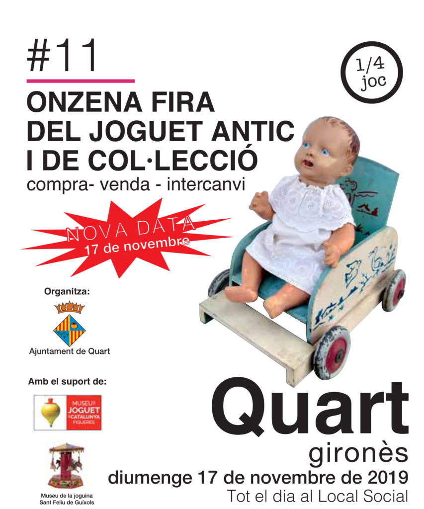 11a Fira del joguet Antic de quart