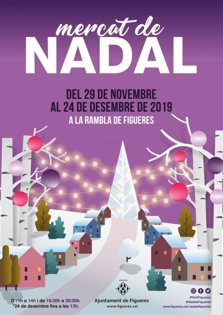 Mercat de Nadal a Figueres
