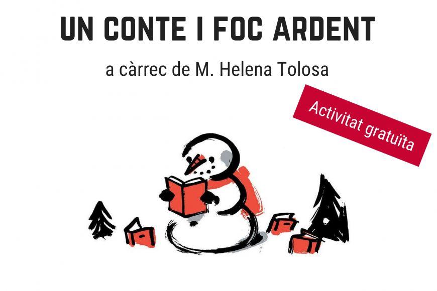 Quan arriba l'hivern, sopa, un conte i foc ardent amb M. Helena Tolosa