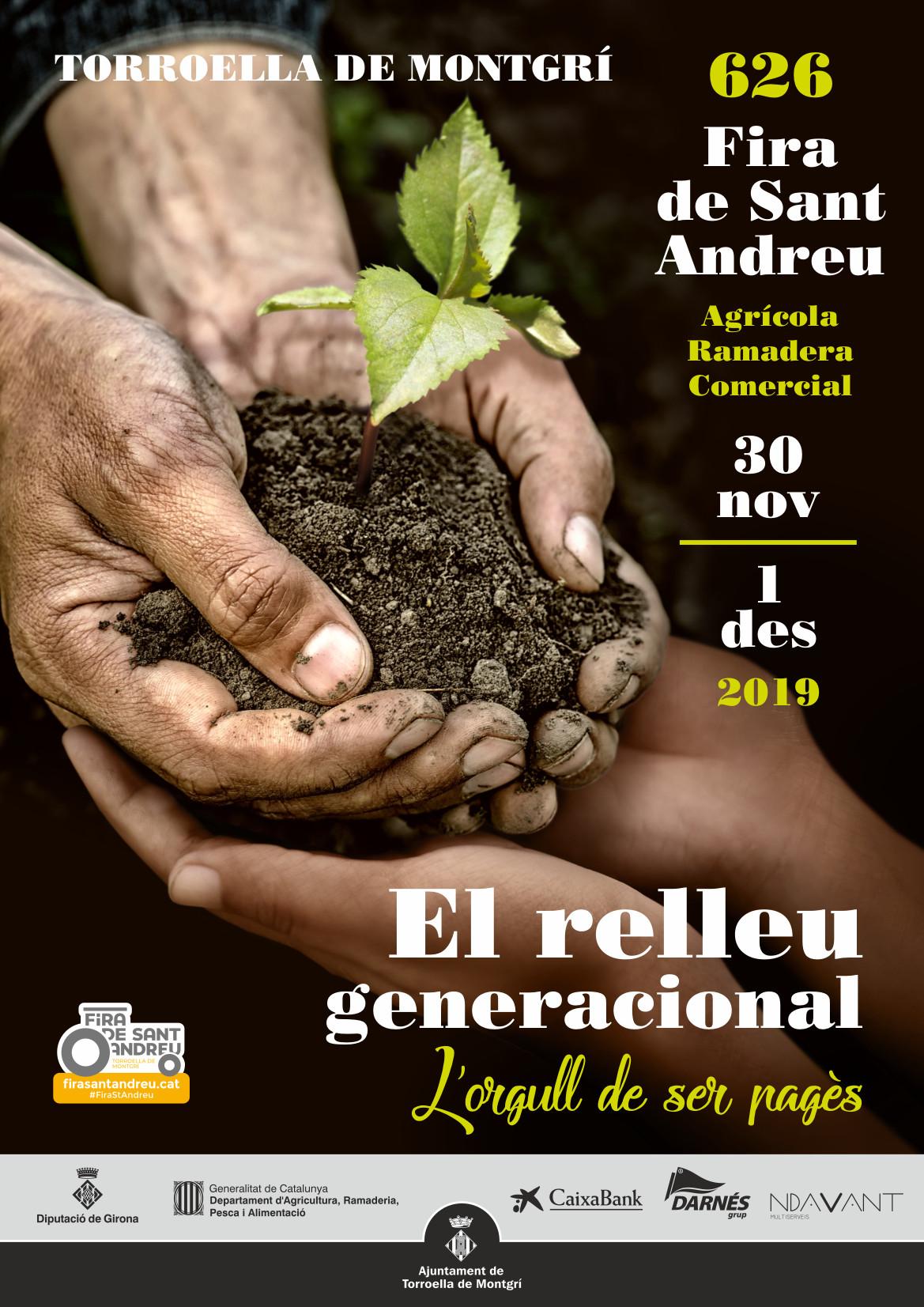 cartell fira sant andreu 2019 torroella
