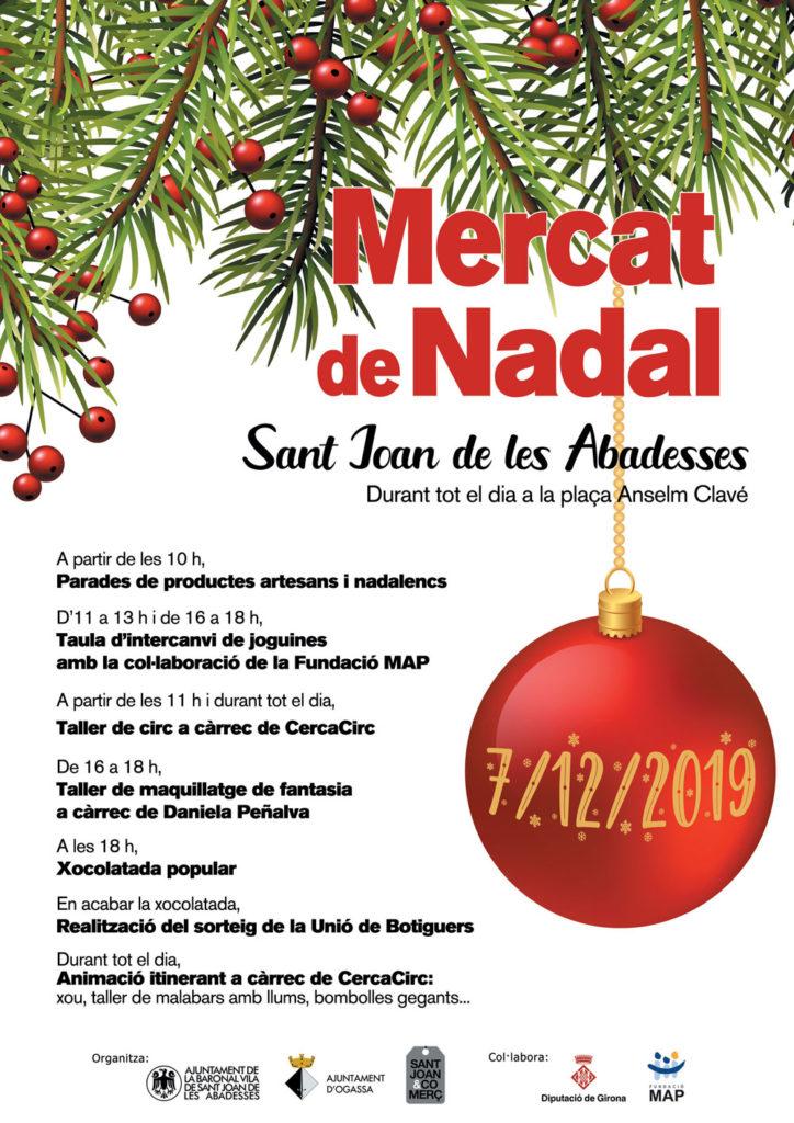 mercat de nadal de sant joan de les abadesses