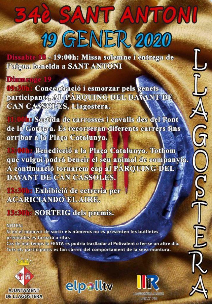 Festa de Sant Antoni a Llagostera