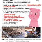 Fira i Festa de la Matança del Porc a la Cellera de Ter