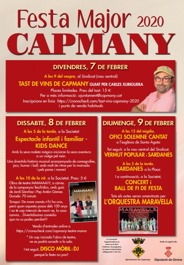 festa major de capmany
