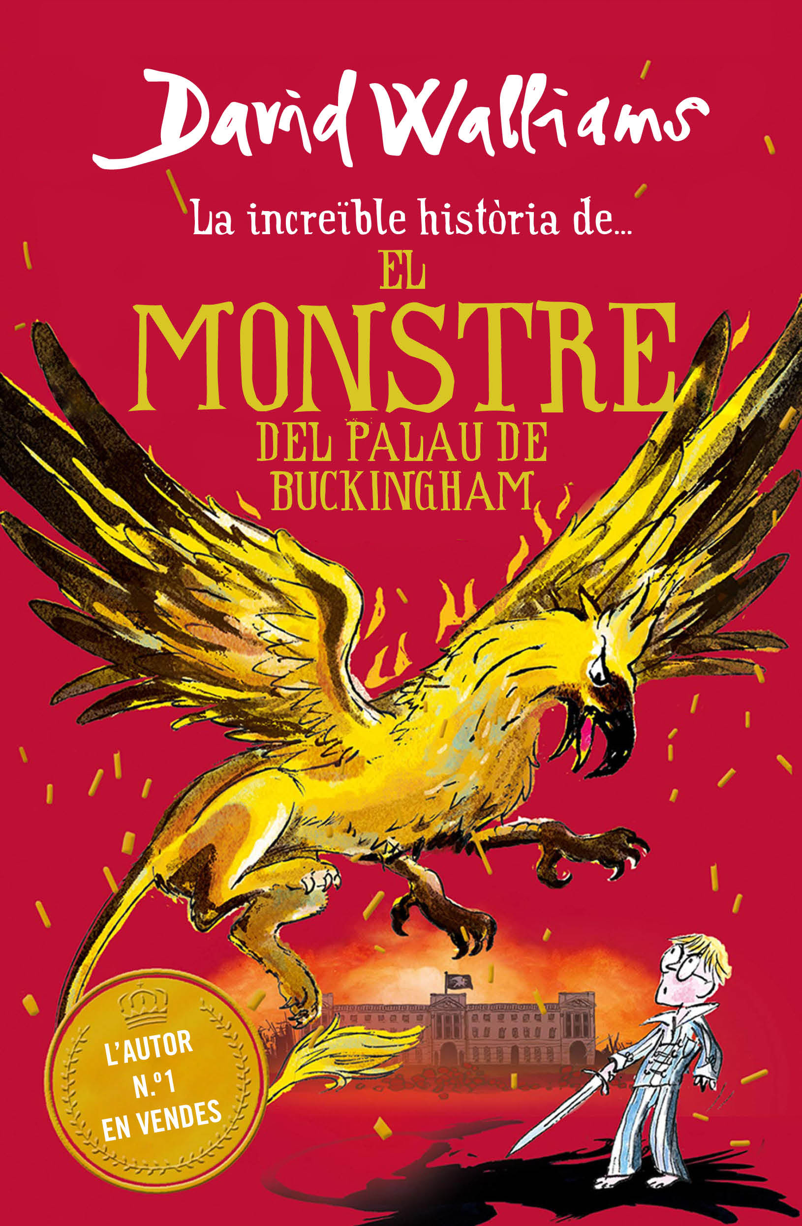 La increible historia de el monstre del palau de buckingham