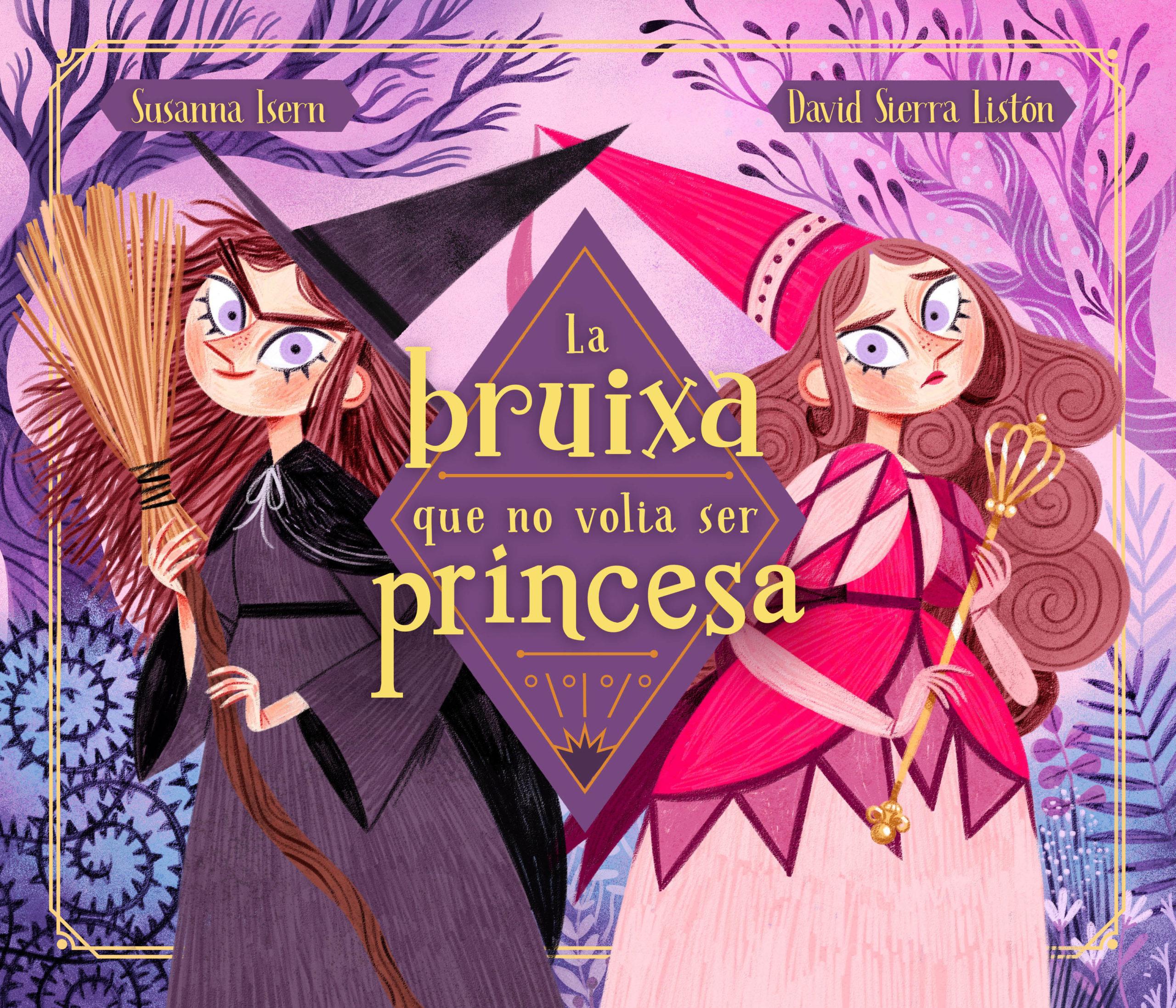 la bruixa que no volia set princesa