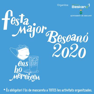 festa major de bescano 2020