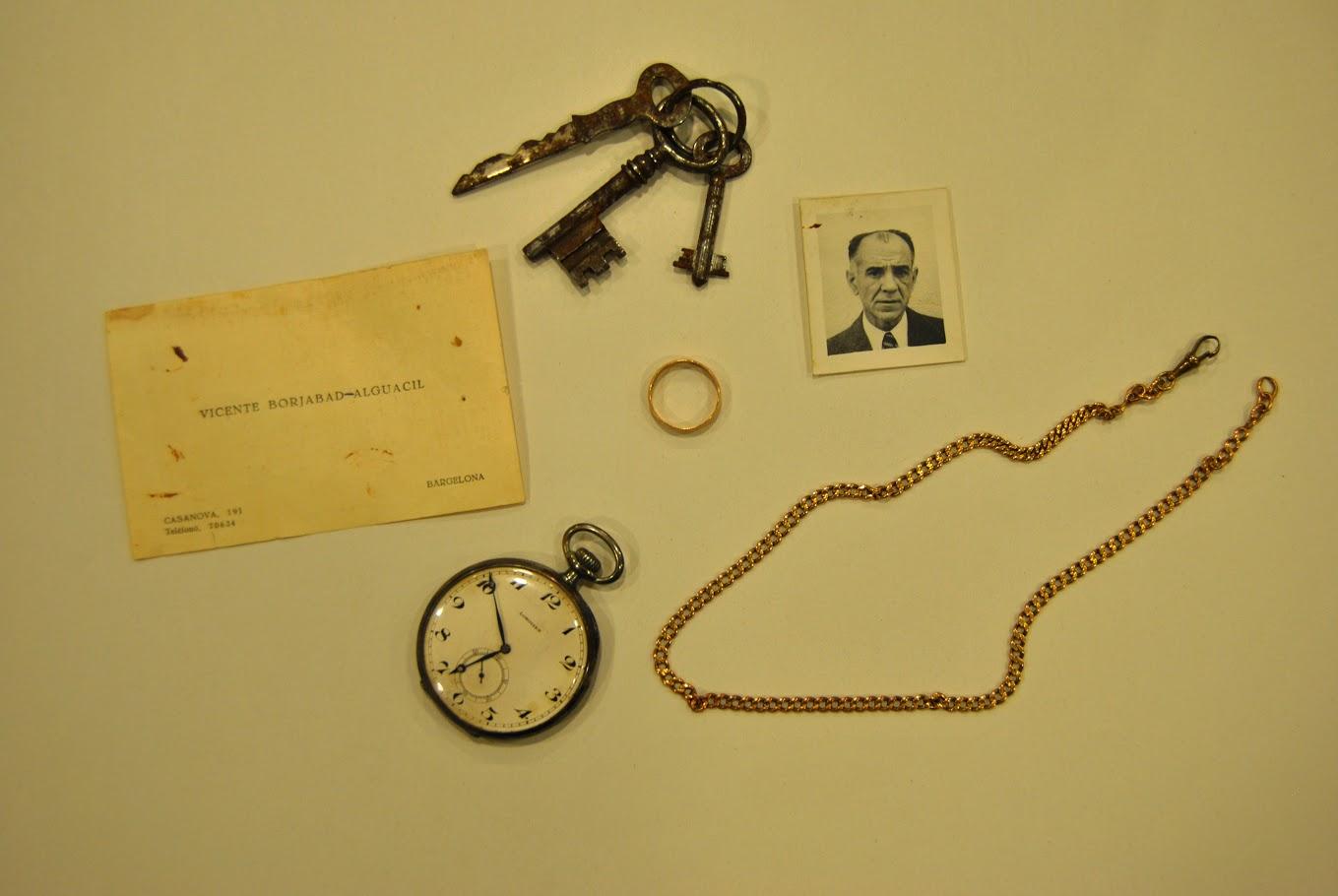Objectes personals confiscats pels nazis