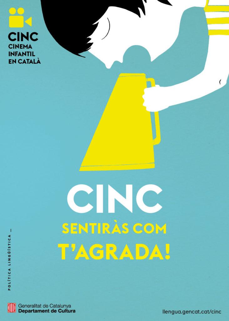 CINC cinema infantil en català