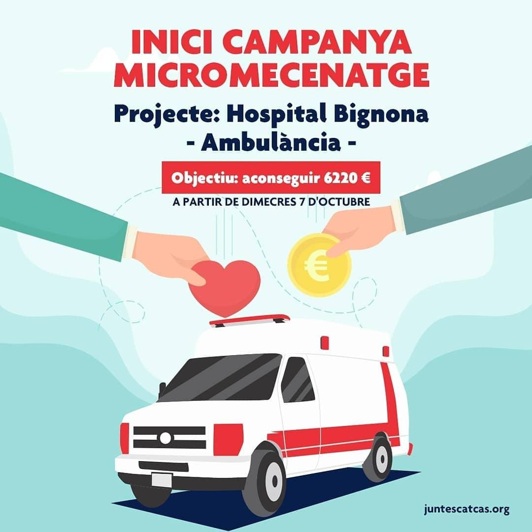 micromecenatge ambulancia hospital Bignona