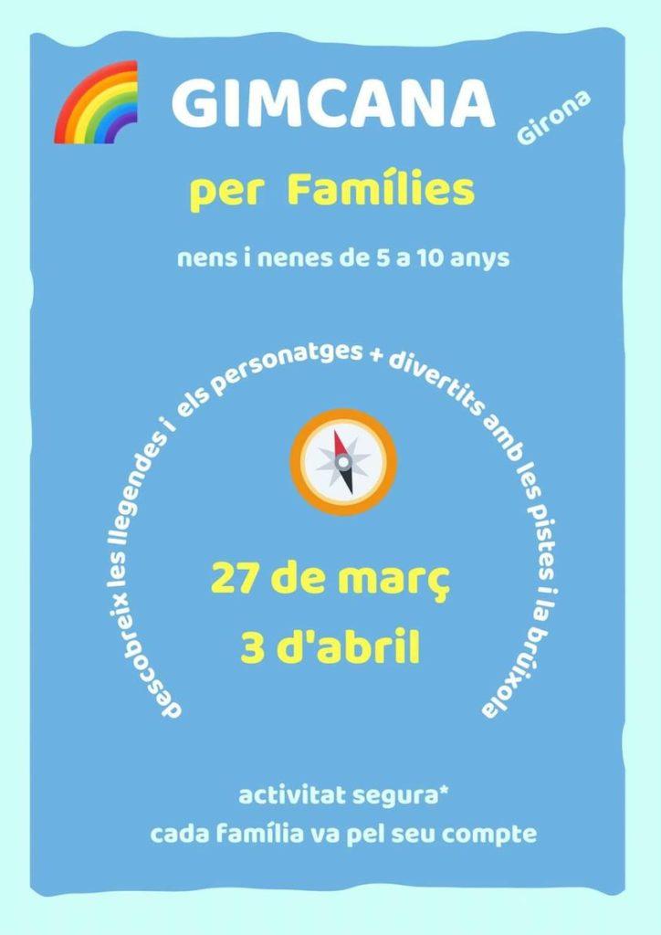 Gimcana amb families Girona